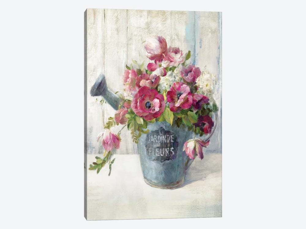 Garden Blooms II by Danhui Nai 1-piece Canvas Art Print