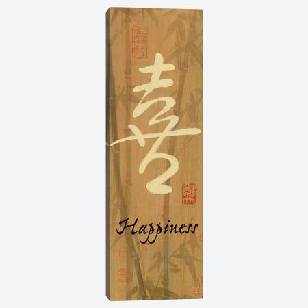 Happiness Bamboo Canvas Print #WAC5148} by Danhui Nai Canvas Art Print