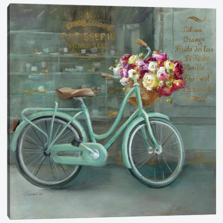 Joy Of Paris I Canvas Print #WAC5149} by Danhui Nai Canvas Print