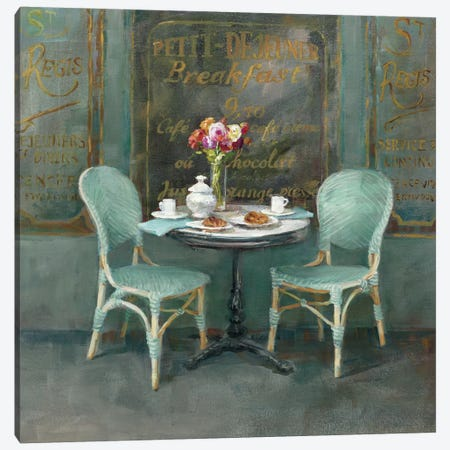 Joy Of Paris II Canvas Print #WAC5150} by Danhui Nai Canvas Wall Art