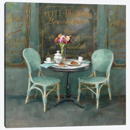 Joy Of Paris II Canvas Print #WAC5150} by Danhui Nai Canvas Wall Art