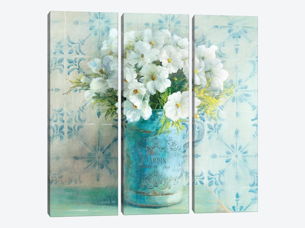 May Blossoms I 3-piece Canvas Print