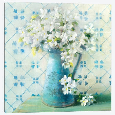 May Blossoms II Canvas Print #WAC5152} by Danhui Nai Canvas Artwork