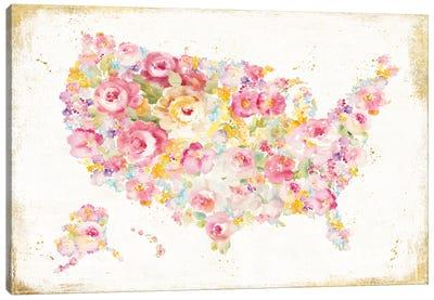 Midsummer USA Canvas Art Print