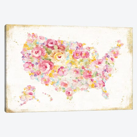Midsummer USA Canvas Print #WAC5153} by Danhui Nai Canvas Artwork