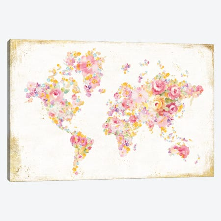 Midsummer World Canvas Print #WAC5154} by Danhui Nai Canvas Print