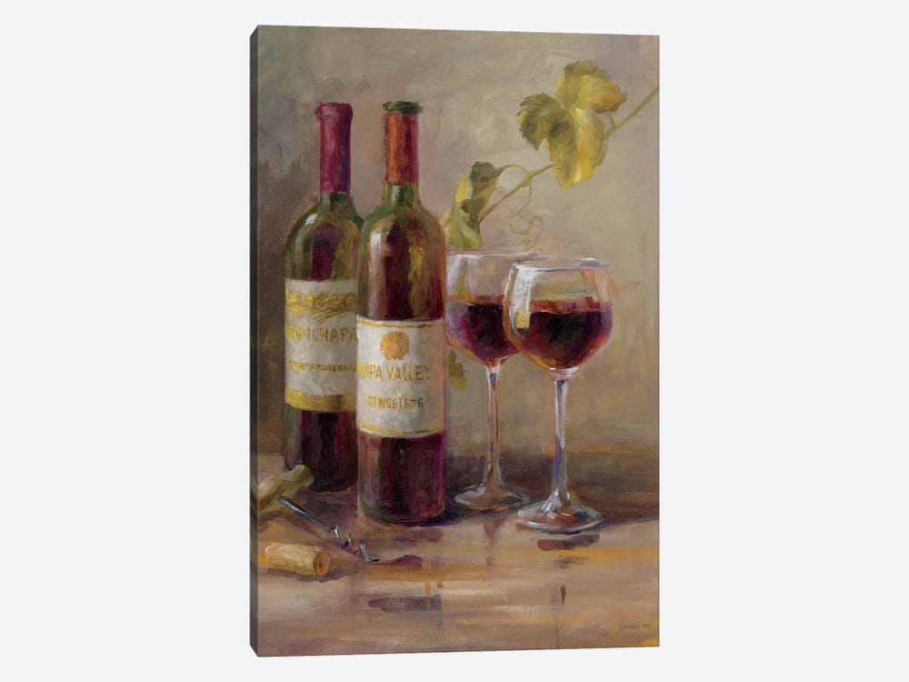 Opening The Wine I by Danhui Nai 1-piece Canvas Artwork