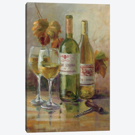 Opening The Wine II Canvas Print #WAC5159} by Danhui Nai Canvas Art