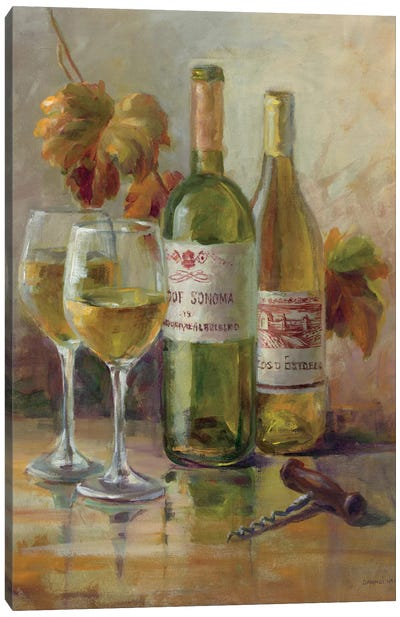 Opening The Wine II Canvas Art Print