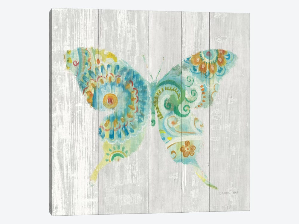 Spring Dream Paisley IX by Danhui Nai 1-piece Canvas Artwork