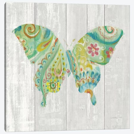 Spring Dream Paisley VIII Canvas Print #WAC5164} by Danhui Nai Canvas Artwork