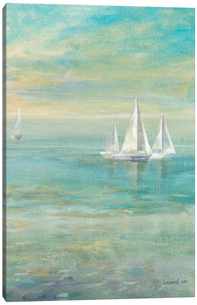 Sunrise Sailboats II Canvas Print #WAC5166