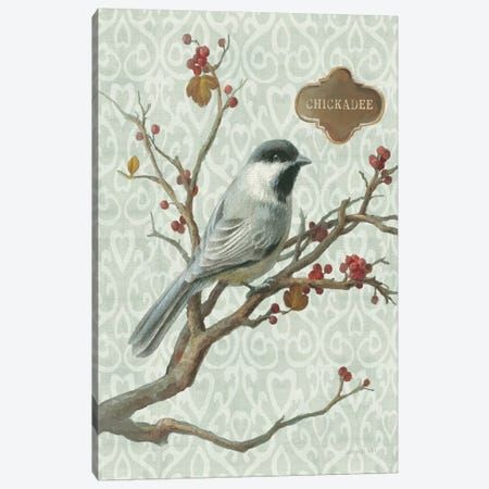 Chickadee Canvas Print #WAC5168} by Danhui Nai Canvas Print