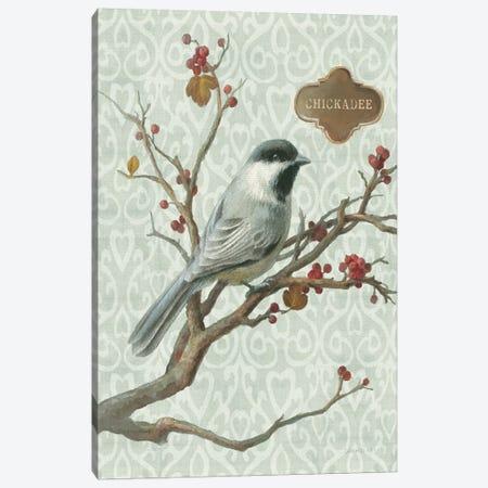 Chickadee Canvas Print #WAC5168} by Danhui Nai Canvas Print