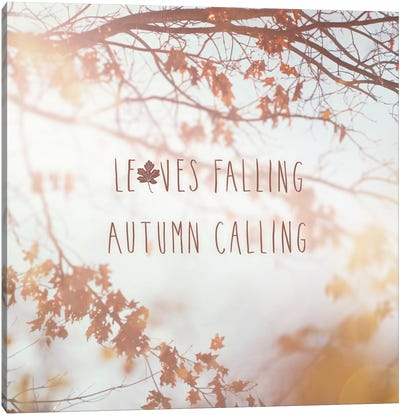 Autumn Calling I Canvas Art Print