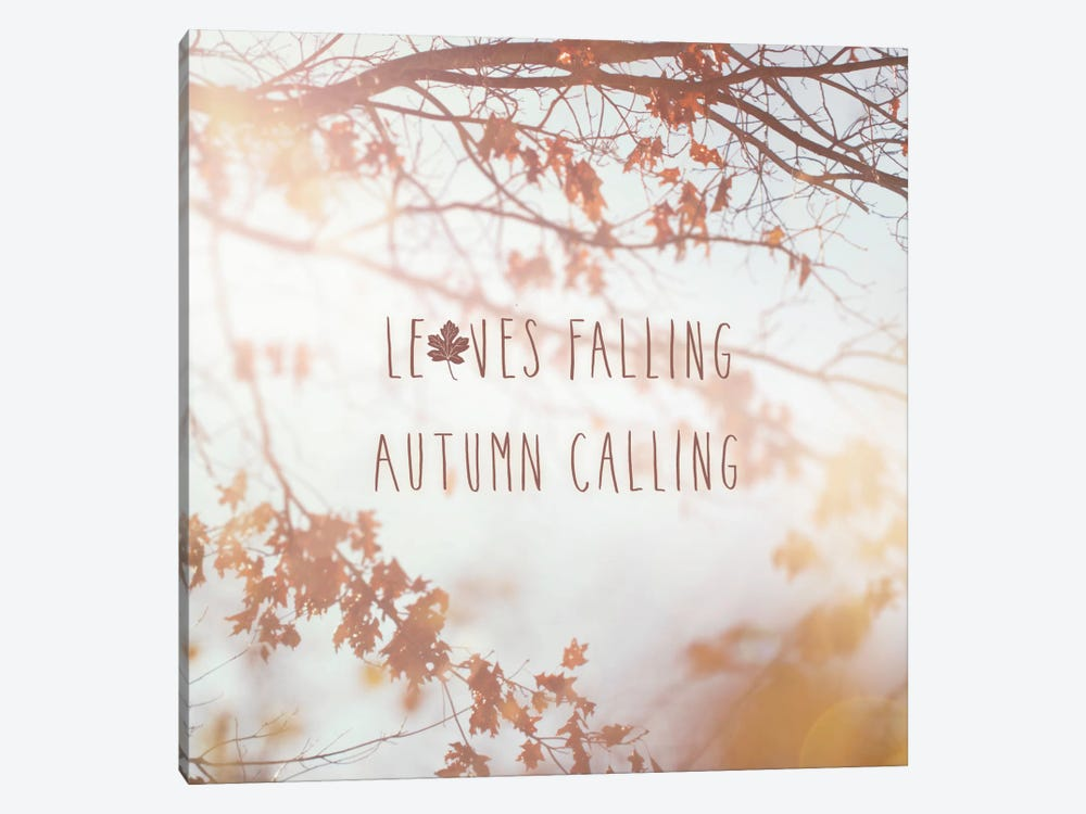Autumn Calling I by Laura Marshall 1-piece Art Print