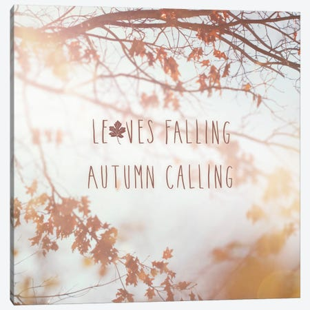 Autumn Calling I Canvas Print #WAC5171} by Laura Marshall Canvas Artwork
