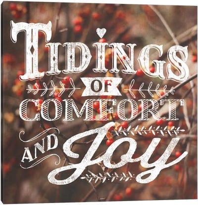 Comfort And Joy Canvas Print #WAC5173