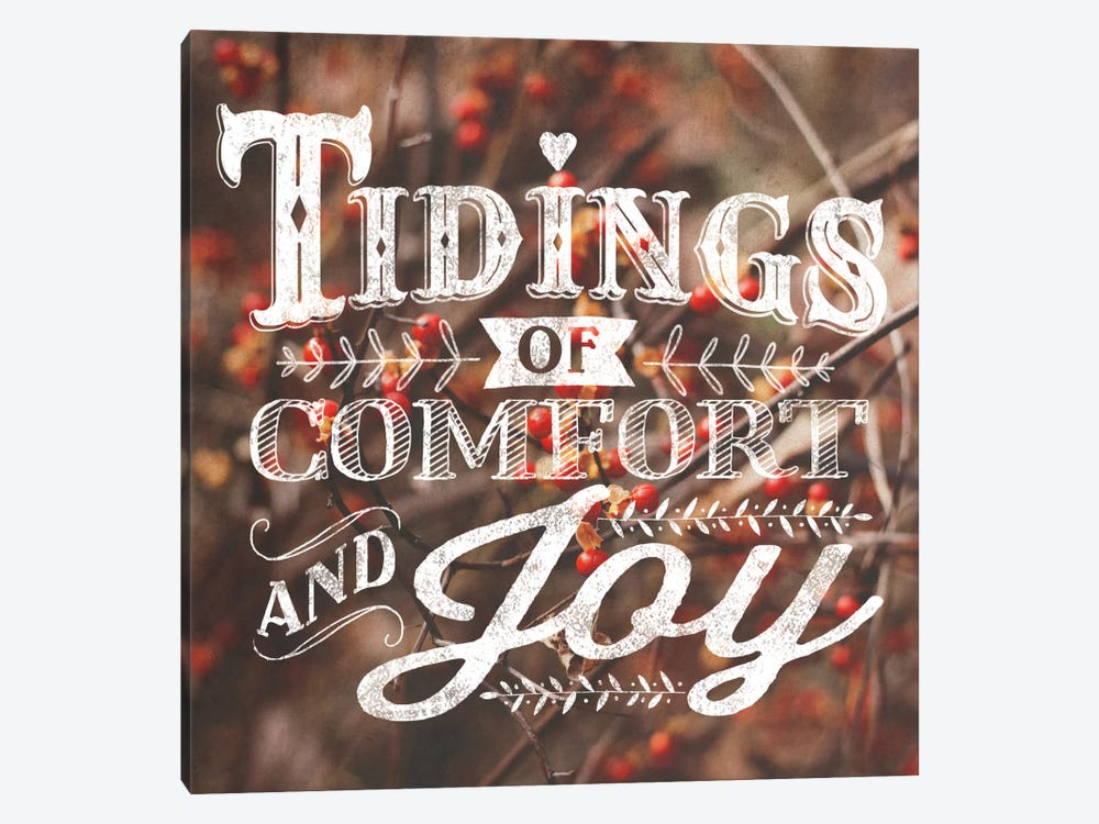 Comfort And Joy by Laura Marshall 1-piece Canvas Print