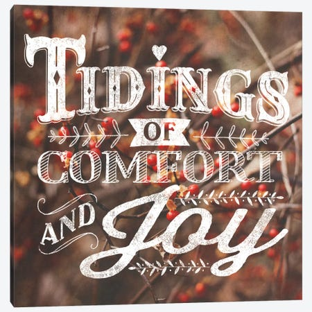 Comfort And Joy Canvas Print #WAC5173} by Laura Marshall Canvas Art