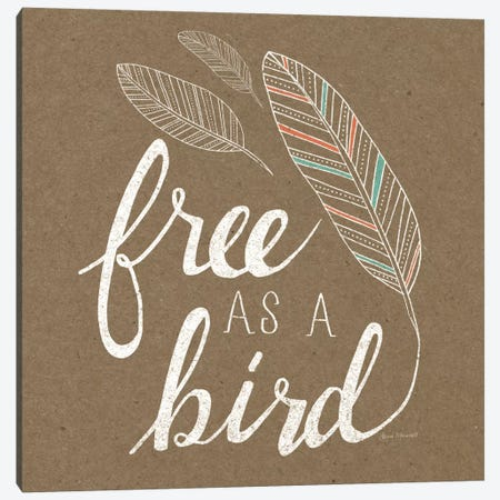 Free As A Bird Canvas Print #WAC5174} by Laura Marshall Canvas Print