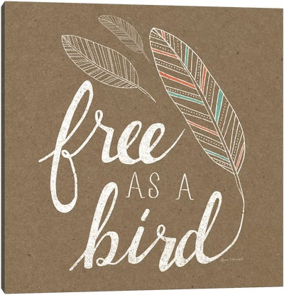 Free As A Bird Canvas Art Print