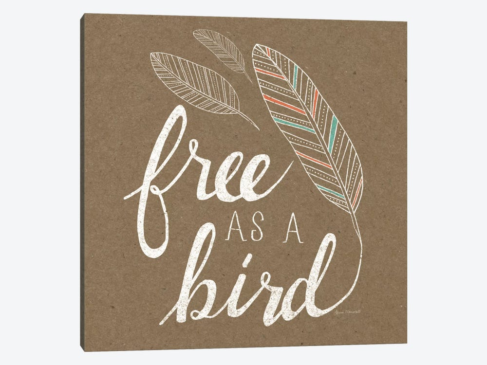Free As A Bird by Laura Marshall 1-piece Canvas Art