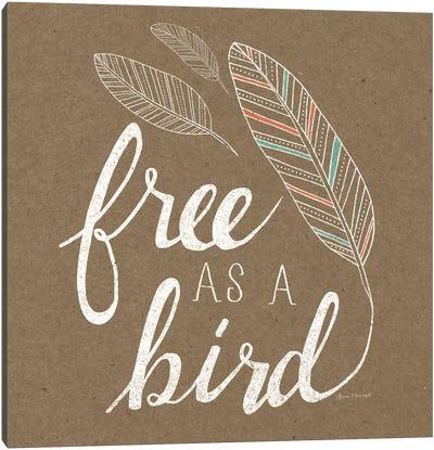 Free As A Bird Canvas Art Print