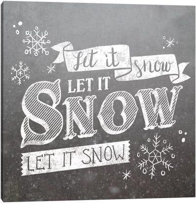 Let It Snow Canvas Print #WAC5175