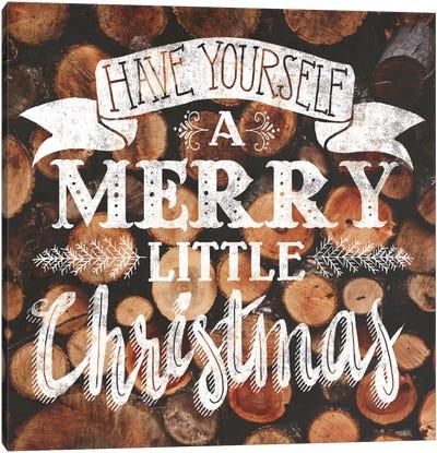 Merry Little Christmas Canvas Print #WAC5176