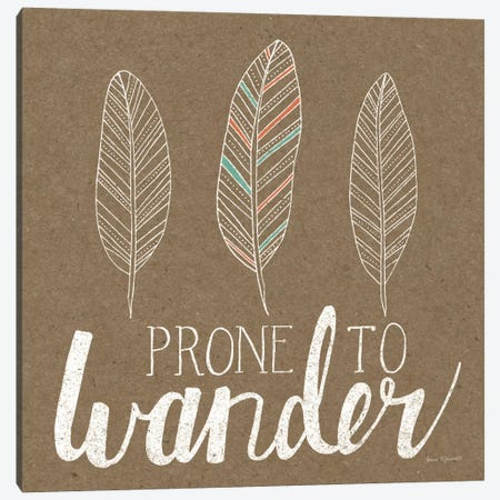 Prone To Wander Canvas Print #WAC5179} by Laura Marshall Canvas Art