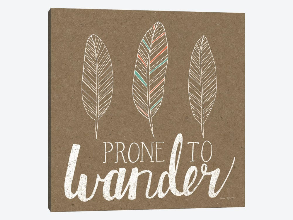 Prone To Wander by Laura Marshall 1-piece Canvas Print