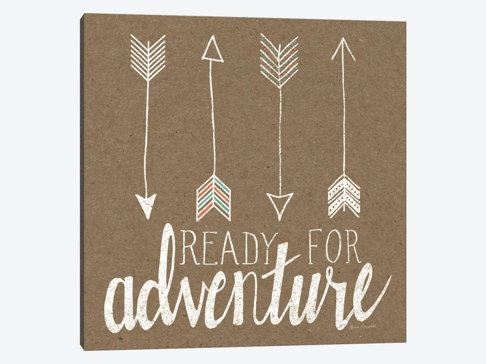 Ready For Adventure by Laura Marshall 1-piece Art Print
