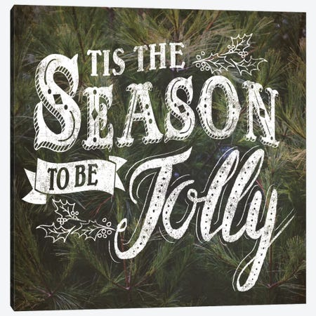 Tis The Season Canvas Print #WAC5181} by Laura Marshall Art Print