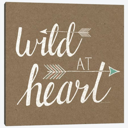 Wild At Heart On Sandstone Canvas Print #WAC5183} by Laura Marshall Canvas Print