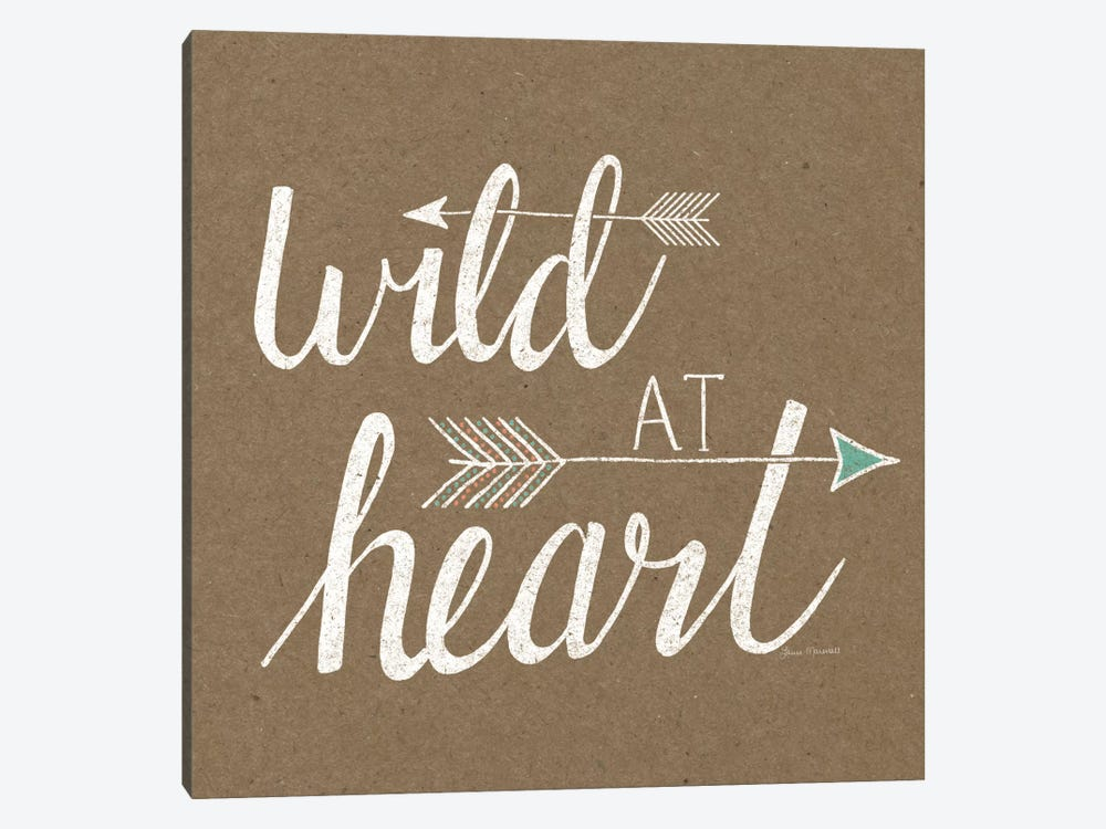 Wild At Heart On Sandstone by Laura Marshall 1-piece Canvas Artwork