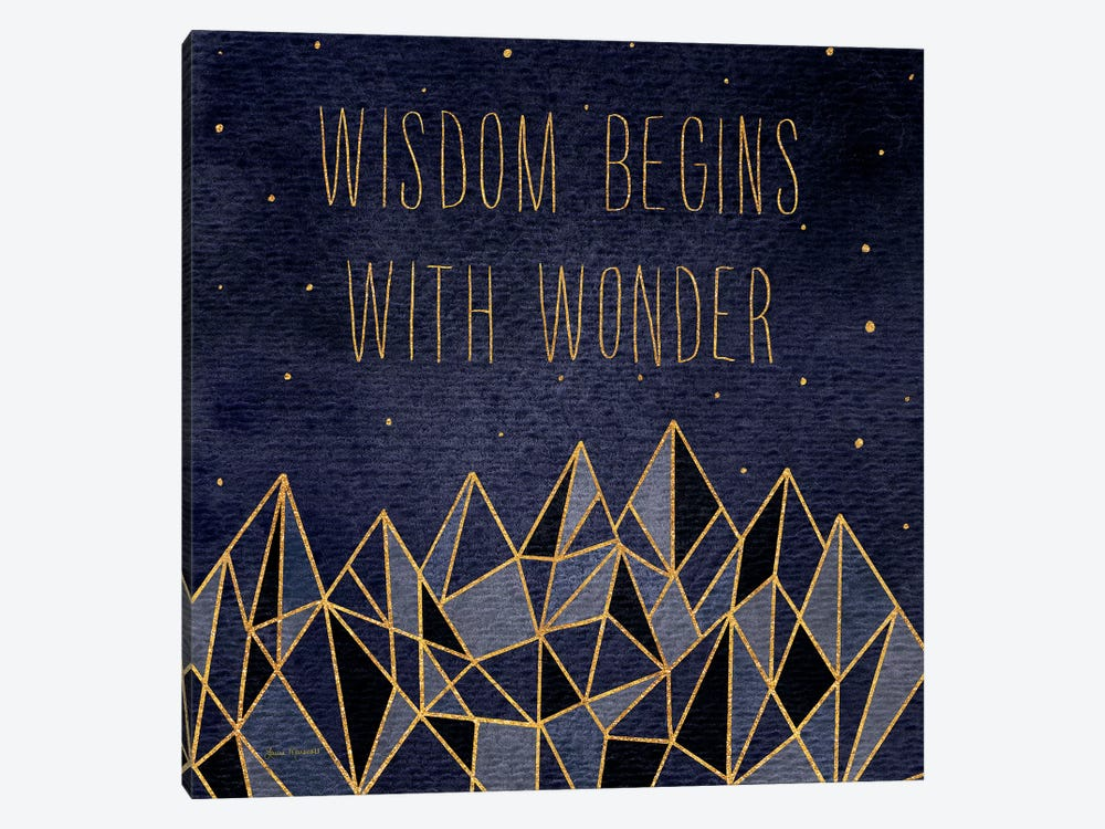 Written In The Stars I by Laura Marshall 1-piece Art Print