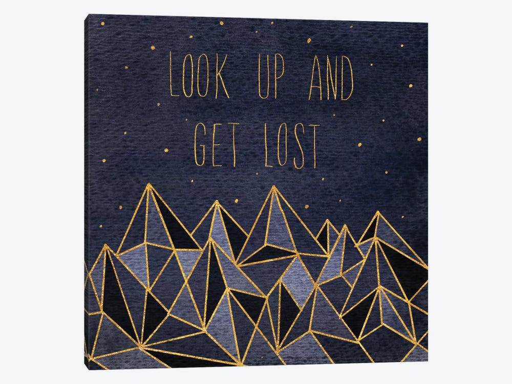 Written In The Stars II by Laura Marshall 1-piece Canvas Wall Art