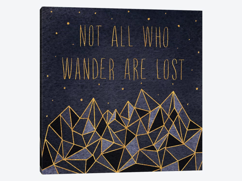 Written In The Stars IV by Laura Marshall 1-piece Canvas Wall Art