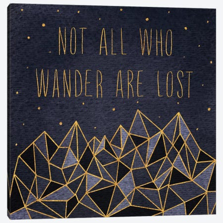 Written In The Stars IV Canvas Print #WAC5187} by Laura Marshall Canvas Artwork