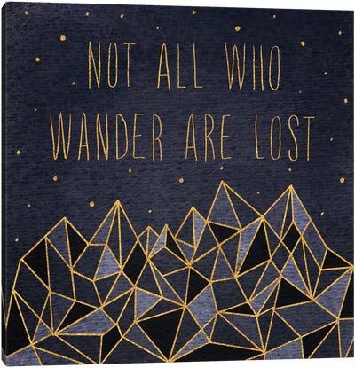 Written In The Stars IV Canvas Art Print