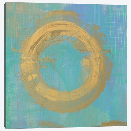 Golden Circles II Canvas Print #WAC5189} by Melissa Averinos Canvas Art Print