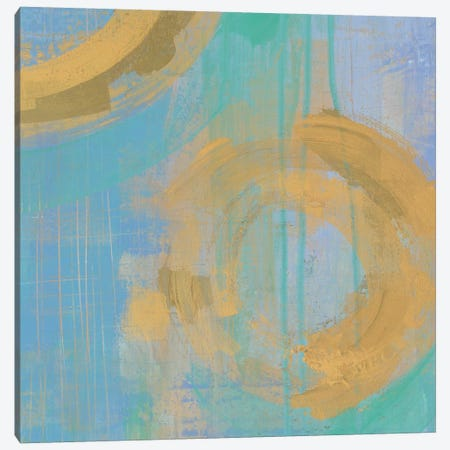 Golden Circles III Canvas Print #WAC5190} by Melissa Averinos Canvas Wall Art