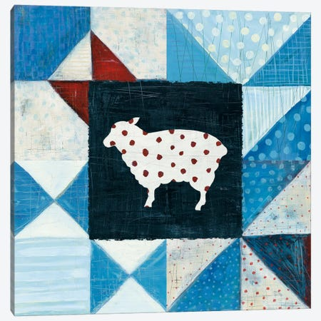 Modern Americana Farm Quilt VI Canvas Print #WAC5192} by Melissa Averinos Canvas Art