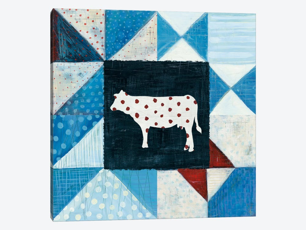 Modern Americana Farm Quilt VIII by Melissa Averinos 1-piece Canvas Wall Art