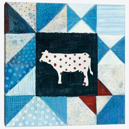 Modern Americana Farm Quilt VIII Canvas Print #WAC5194} by Melissa Averinos Canvas Art Print