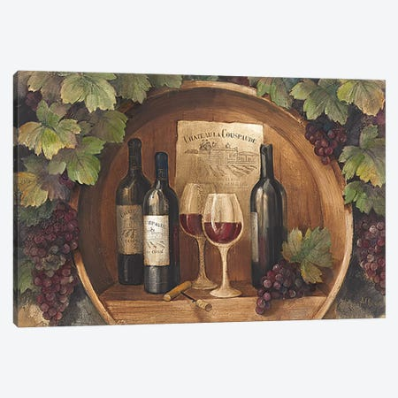 At the Winery Canvas Print #WAC51} by Albena Hristova Canvas Art