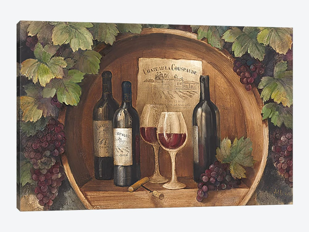 At the Winery by Albena Hristova 1-piece Canvas Wall Art