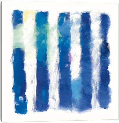 Rhythm And Hue On White Canvas Print #WAC5208