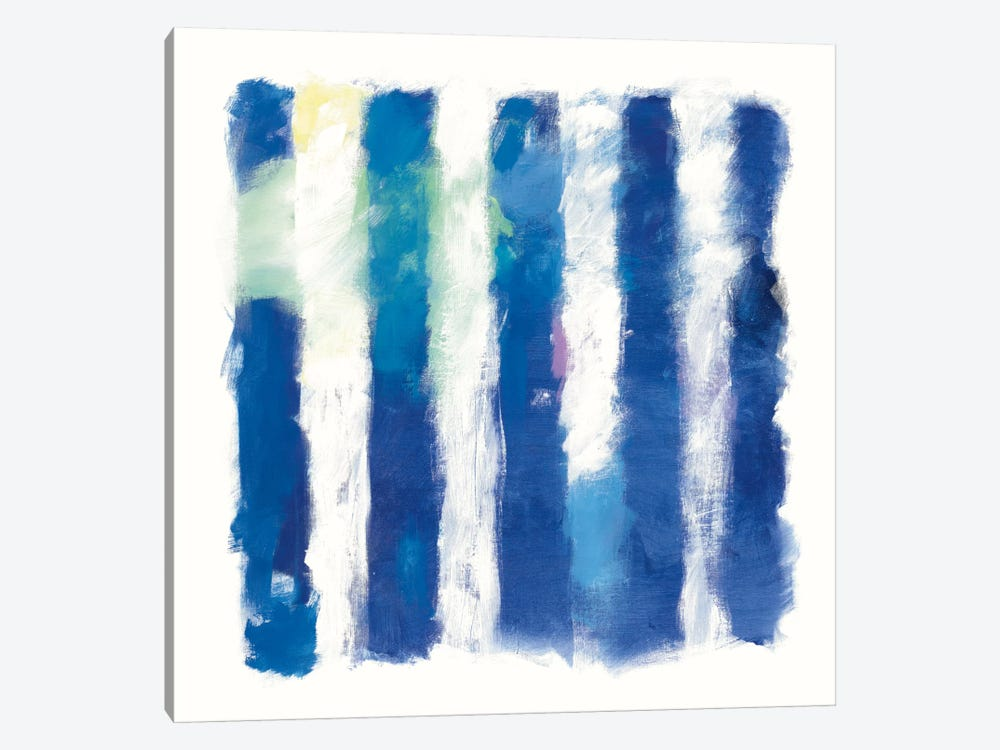 Rhythm And Hue On White by Mike Schick 1-piece Art Print